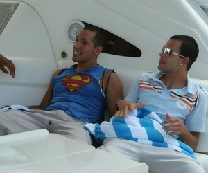 Check ou these gay lovemaking soirees on a boat nude in..
