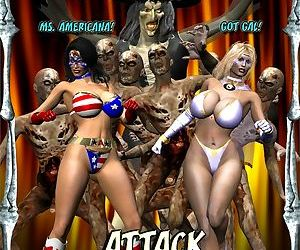 Ms Americana and Got Gal- Nightmare Witch