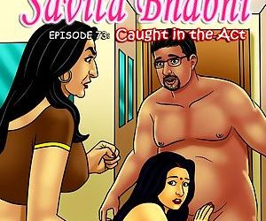 Savita Bhabhi 73- Caught in the Act