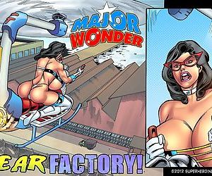 Superheroine- Major Wonder Fear Factory Raw