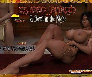 Joos3dart- Queen Farah- A Howl in the Night