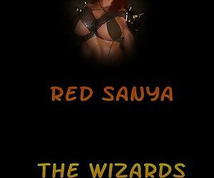 Amazons-Vs-Monsters- Red Sanya – The Wizards Dungeon