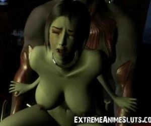 3D Shocking SciFi Sex! - 3 min