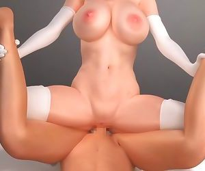 Hentai anime 3D Monster Girl 2