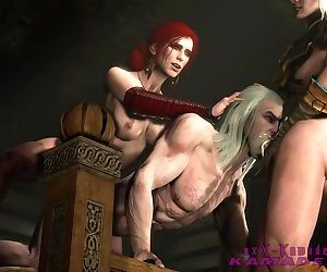 The Witcher - Geralt dominated by..