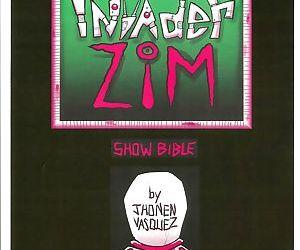 Invader Zim Show Bible