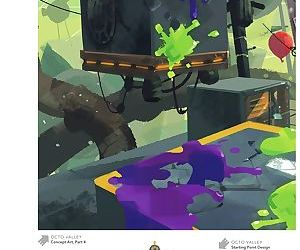 The Art of Splatoon - part 8