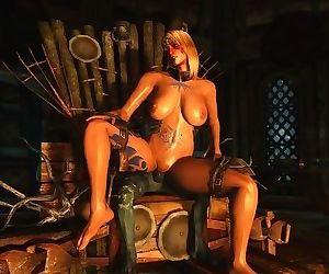 Sexy Skyrim-Rieklings are horny..