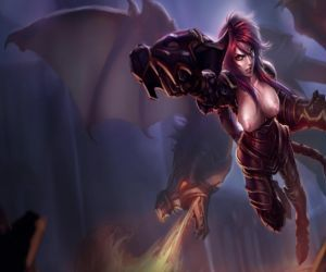 League Of Legends Naked Splash..