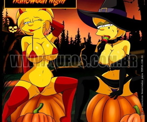 The Simpsons - Halloween Night
