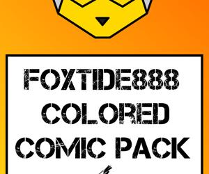 Foxtide888 Colored Comic Pack 04