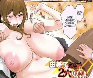 Yumiko Sensei wa 2-Ana Dorei -..