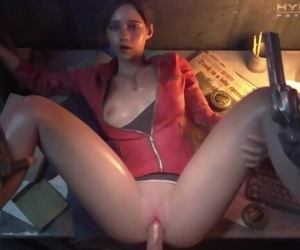 CLAIRE REDFILED SAVE ROOM PUSSY..