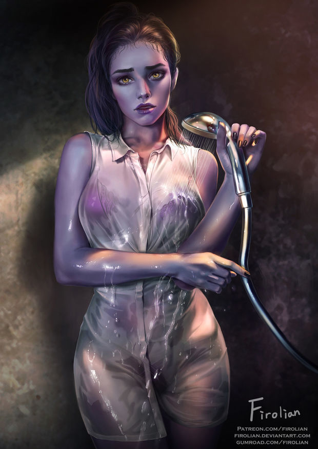Widowmaker in the Shower by..