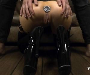BDSM Hardcore Anal Sex with Big..