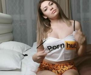 Masturbates with..