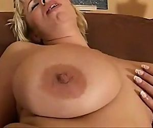 busty milf with red dildo.240p..