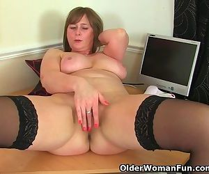 British mom April loves to be..