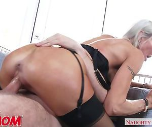 Emma Starr fucks her son's friend..