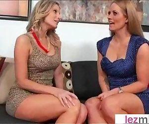 Mature Lesbians Lick And Play..