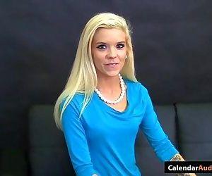 Hot Blonde Seduces Cute Teen At..