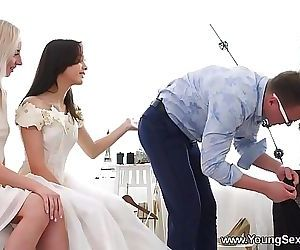 Young Sex PartiesDress fitting..