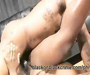 Rough Ebony Fucking
