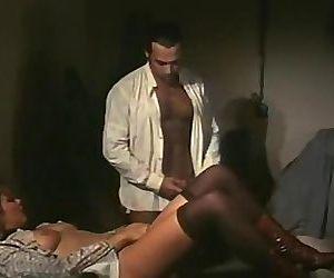Vintage maid fucks the man of the..