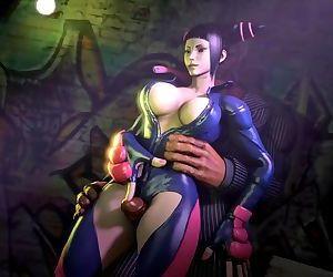 Street Fighter - Juri Han..