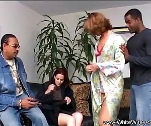 Hot White Wifey Interracial Anal