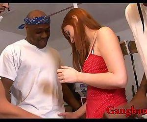 Redhead babe..