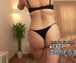 Subtitled Japanese facesitting..