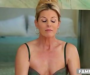 MILF massaging her step son 6 min..