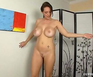 Mature Lady Curious Over Penis..