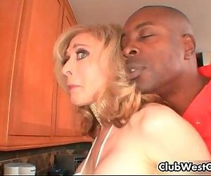 Horny blond houswife Nina Hartley..
