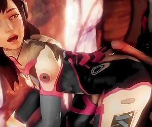 D.VA THE CUM SLUT..