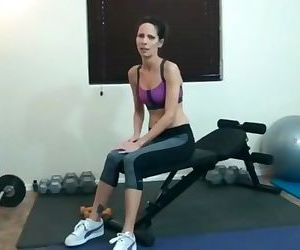 Step Mom fucking son at gym hours