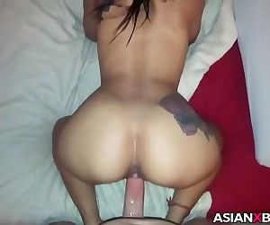 Asian babe with..