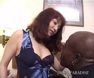 japanese wife get fucked by black..