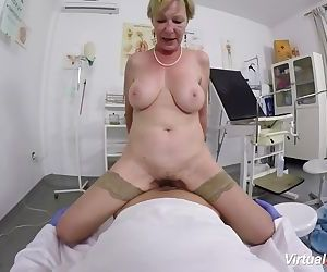 hairy granny pov fucked by her..