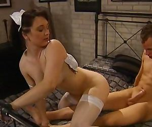 Nurse roleplay ends with anal