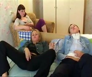 Classic vhs sex tape girls party.