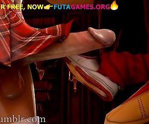 Asian school futa girls, hot..