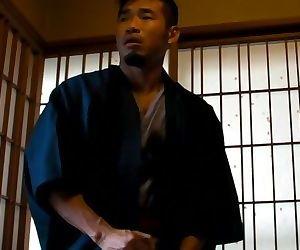 Blowing a load at a Japanese ryokan