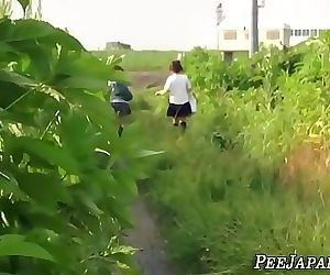 Kinky asian teenagers peeing 10..