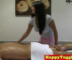 Real nuru masseuse tugs customer..