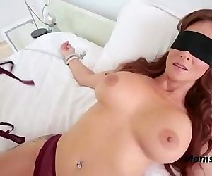 Blindfolded Mommy..