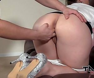 BBW MILF Blackmailed and Fucked..