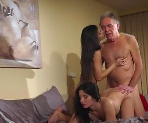 Old Young Porn Teens share old..