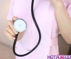 Kasumi Uehara nurse sucks and..